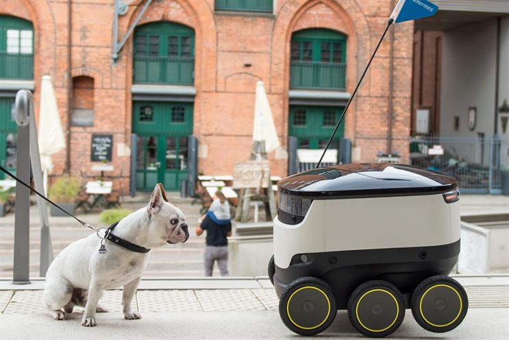 Hermes to test delivery robots in Southwark