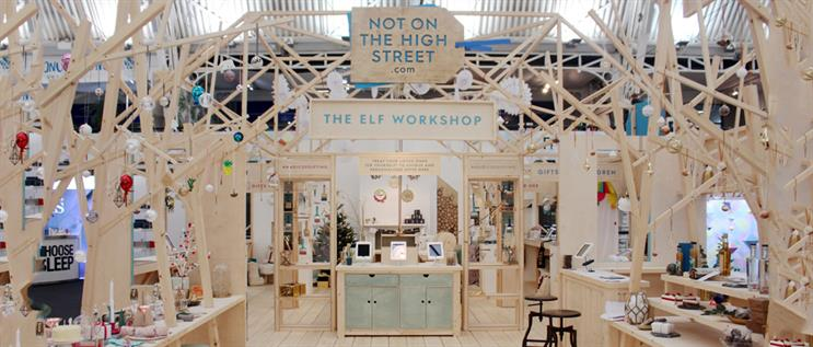 Notonthehighstreet.com's Elf Workshop