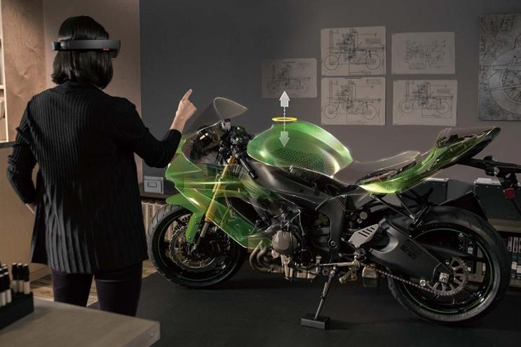 Microsoft launched HoloLens as part of its Windows 10 announcement