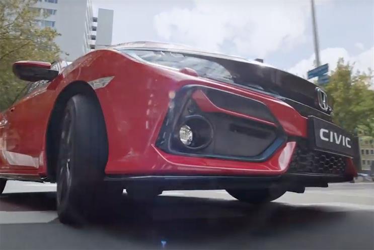 Honda: W&K created spot in March