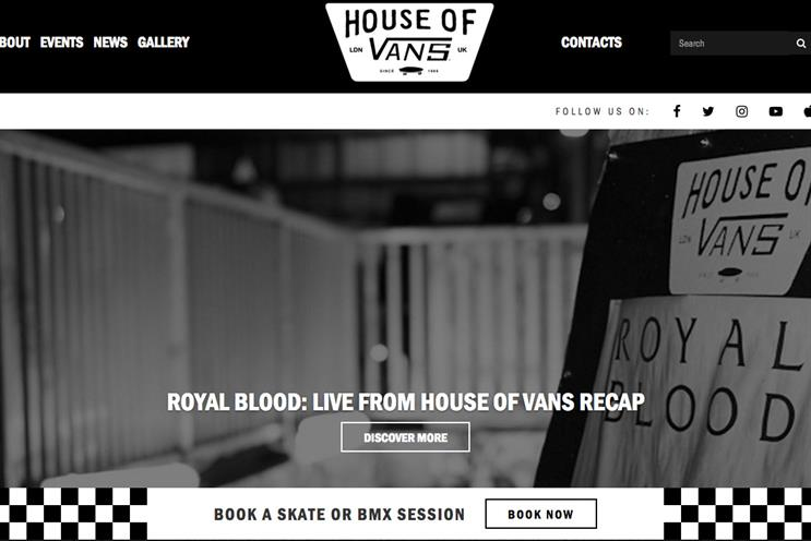 913f51b0a3 House of Vans launches first UK festival experience at Bestival