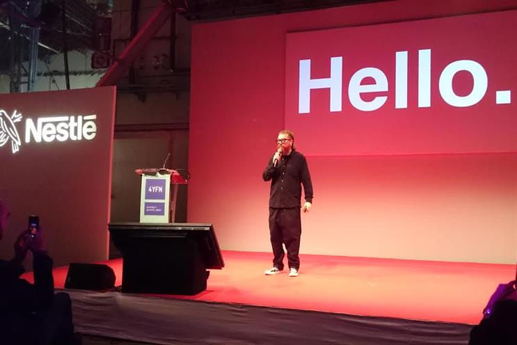 Reed: spoke at Mobile World Congress today
