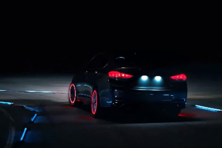 Hyundai: Has fitted LED lights on race track to show 'intelligent' tyres