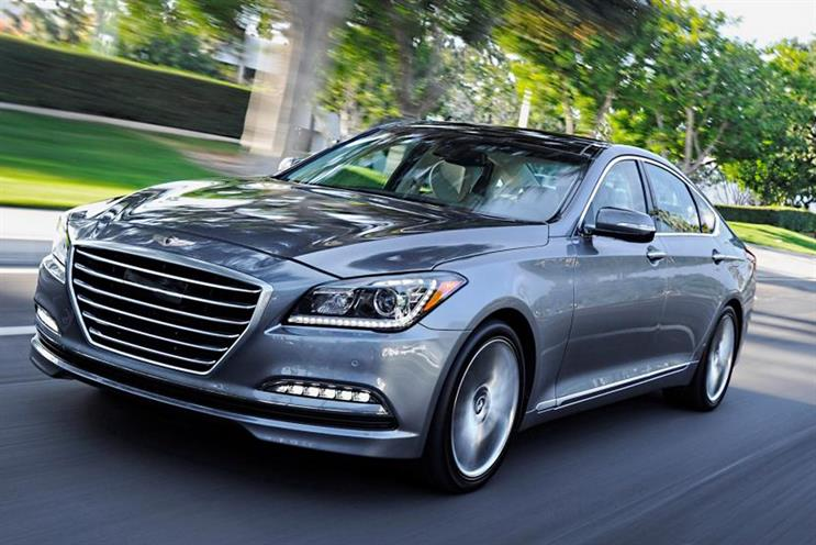 Hyundai's Genesis is one of the models affected by the recall
