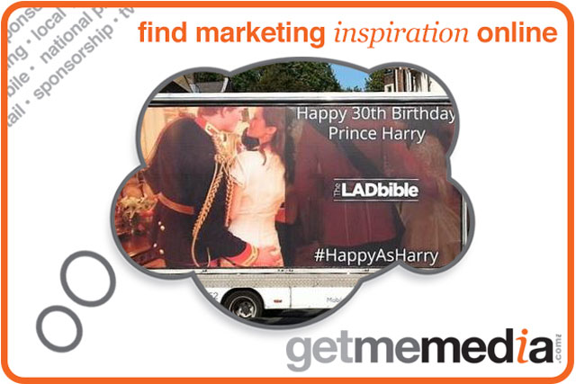 Prince Harry's 30th Birthday PR Stunt