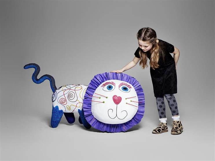 V&A Museum of Childhood's 'imaginary friends', created by AMV BBDO