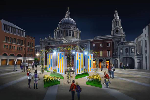 Marie Curie to illuminate 4,000 daffodils for 'Garden of light' experience