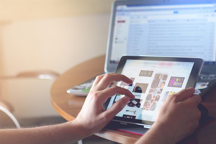 Internet advertising dominates the UK market