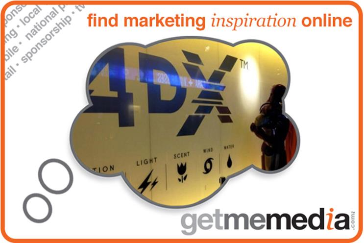 DCM offer sponsorship of the immersive 4DX experience