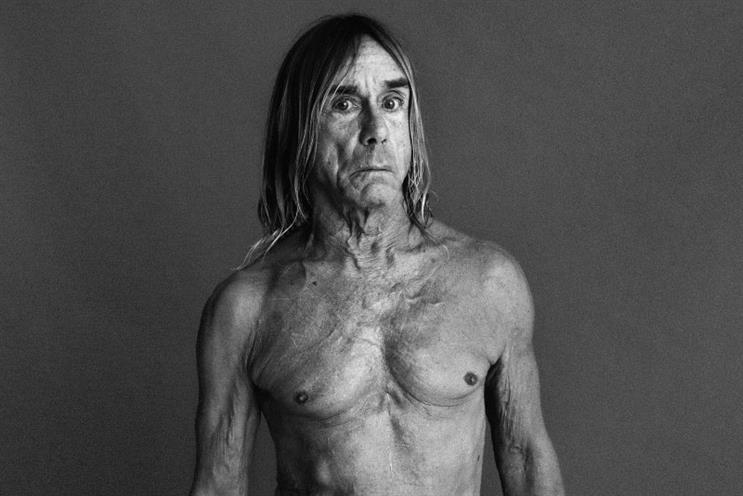 Iggy Pop: will appear at Cannes Lion on Wednesday