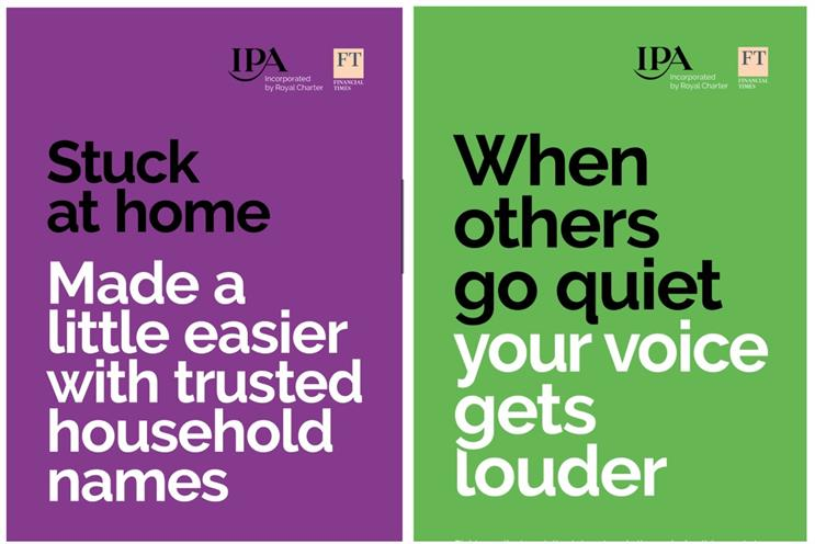 IPA: reminding brands about power of advertising