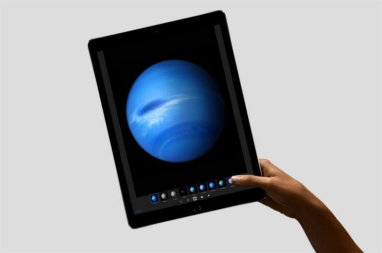 Technology such as the iPadPro will be on offer to trial at the pop-up (apple.com)