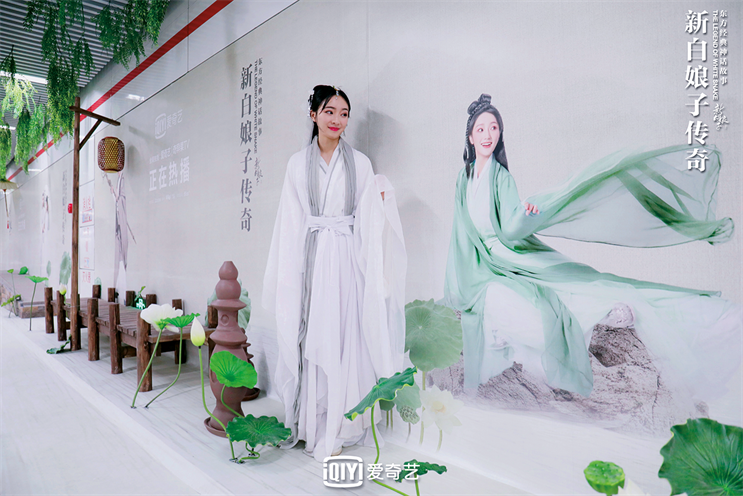 Immersive campaign to promote iQIYI's 'The Legend of White Snake' included trains and a 'dressed-up' station close to where the story is set
