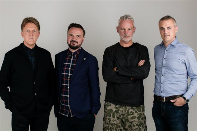 Iris: The agency has hired (from left to right) Mike Cornwell, Chris Whitson, Jason Andrews and Simon Spyer