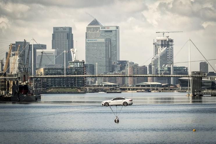 Jaguar named as a brand that represents 'modern Britain'