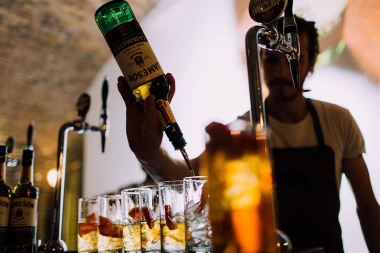 Jameson: pairing Caskmates tasting with dinner
