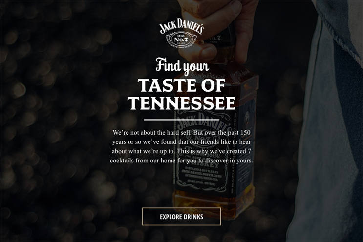 Jack Daniel's pairs food, booze and song to help Brits 'Find their taste of Tennessee'