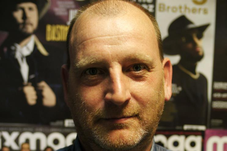 Jerry Perkins: the chief executive of MixMag Media
