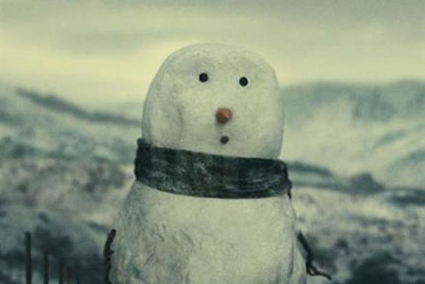 John Lewis: 2012's snowman TV campaign
