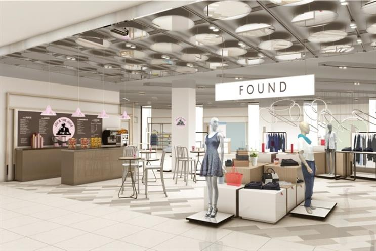 John Lewis: introduces fashion Found concept