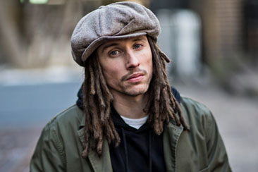 JP Cooper: he will be writing a song for World Poetry Day