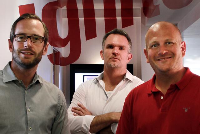 Ignite: Paul Saville, Fred Porro and Cris Cicirello