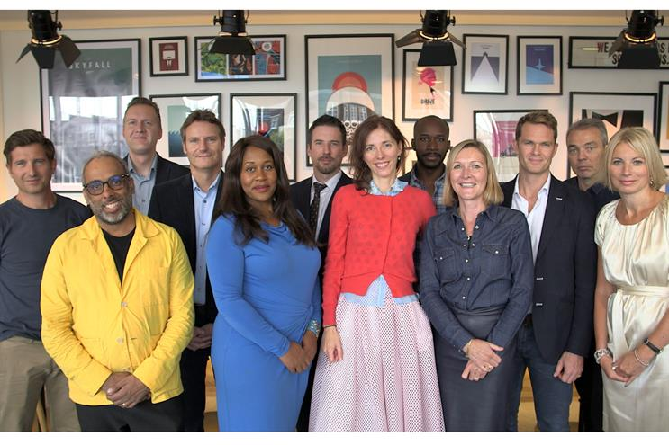 The judges: Jon Forsyth, founder, Adam & Eve/DDB; Jason Gonsalves, chief strategy officer, Bartle Bogle Hegarty; Pete Markey, chief marketing officer, Post Office; Andy Edge, commercial director, Odeon; Karen Blackett, chief executive, MediaCom; Barr