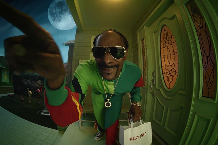 Snoop Dogg: no stranger to advertising