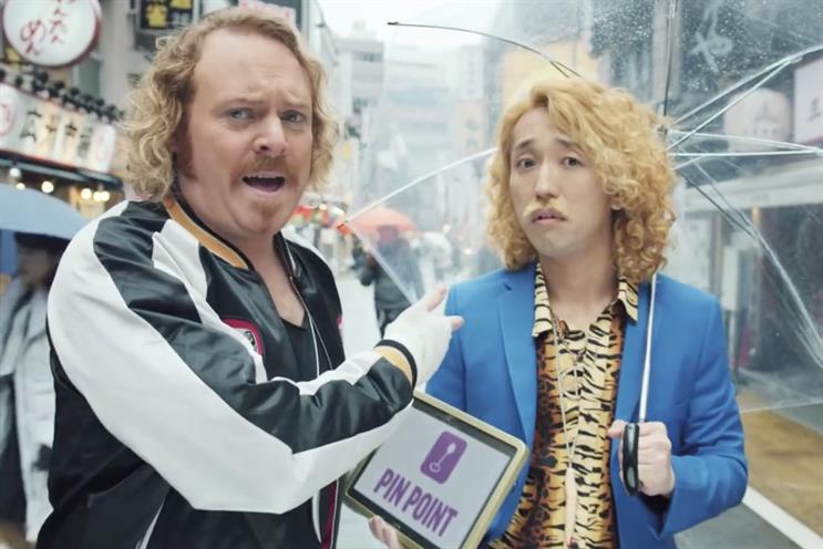 Keith Lemon: in Carphone Warehouse's advertising