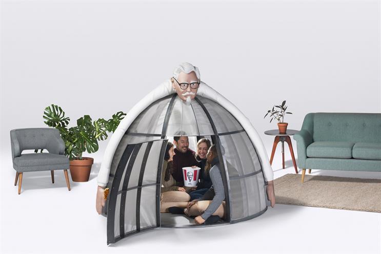 KFC's latest wacky product is a $10,000 internet escape pod