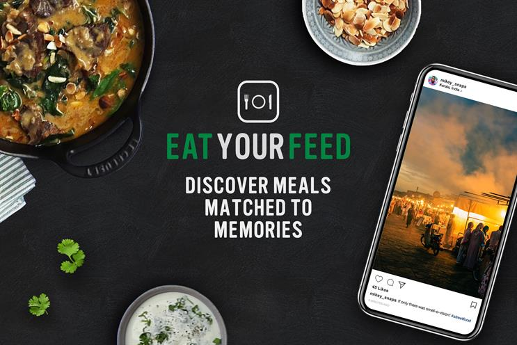 Knorr launches one-off dining event for Instagrammers' personal menus