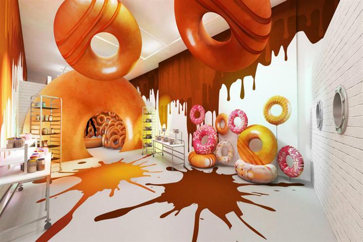 Krispy Kreme to stage doughnut-themed playground