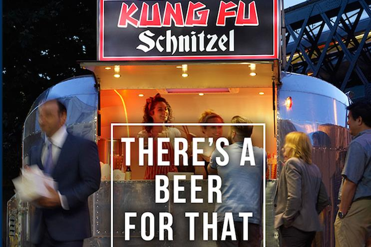 British Beer Alliance: digital ads encourage drinking beer with an array of unusual foods