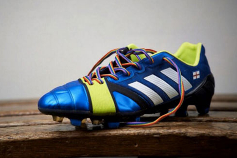 Adidas: supporting Rainbow Laces campaign