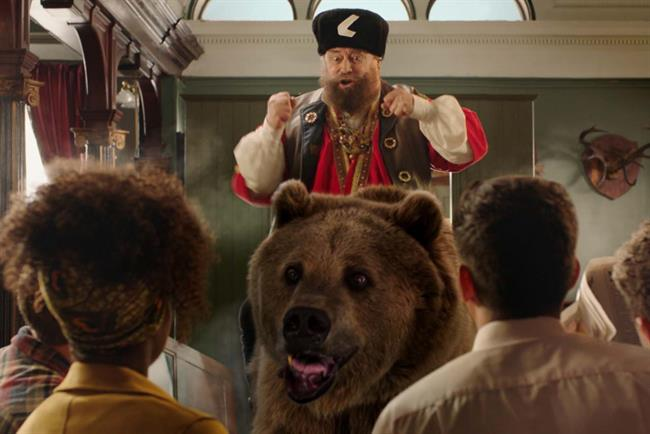 'Lads, lads, lads': Ladbrokes ads has featured celebrities Brian Blessed (pictured) James Buckley and Kris Akabusi