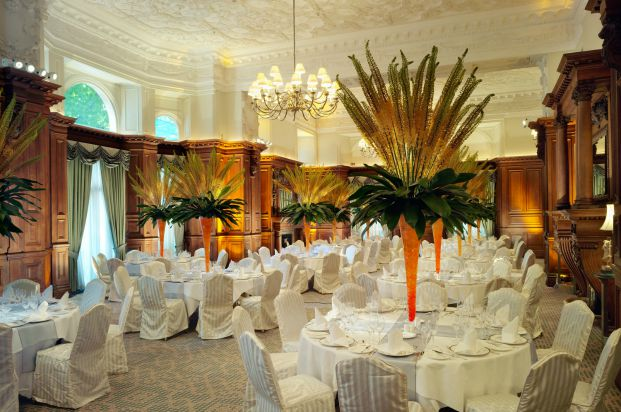 The Drawing Room at The Landmark can host up to 300 guests