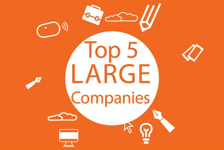 Best Places to Work 2018: top 5 large companies