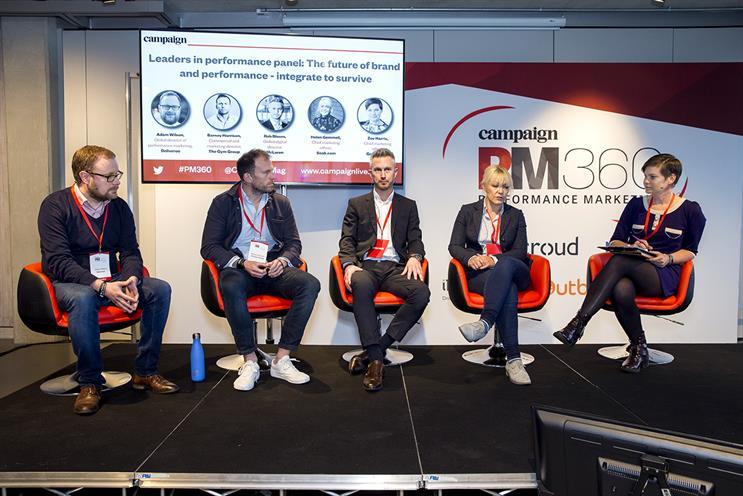 Performance Marketing 360: Wilson, Harrison, McLaren group digital director Rob Bloom, Gemmell and Harris
