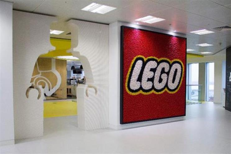 Lego: Tops the reputation list for UK consumers