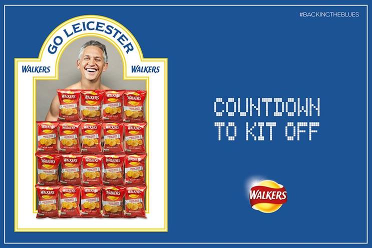 Walkers' 'Countdown to kit off' by AMV BDDO has been nominated for a Big Award