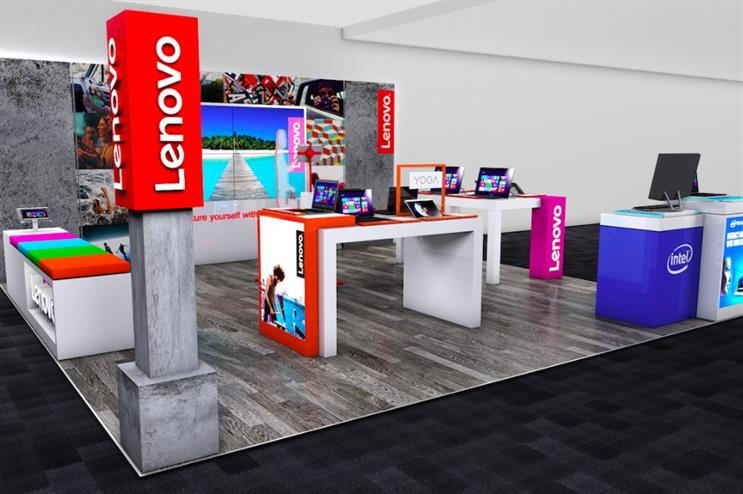 It is the first time the branded zone concept has been rolled out in the UK
