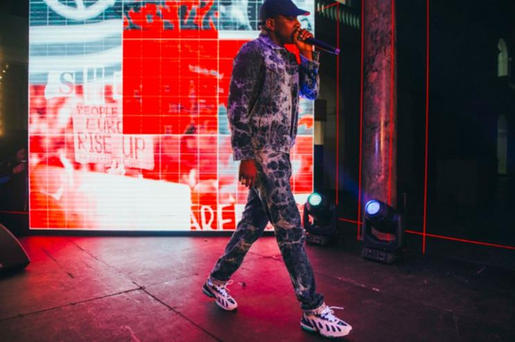 Levi's Music Project launches in UK with grime artist Skepta