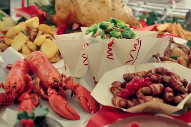 Sales of lobster rocketed at Lidl this Christmas