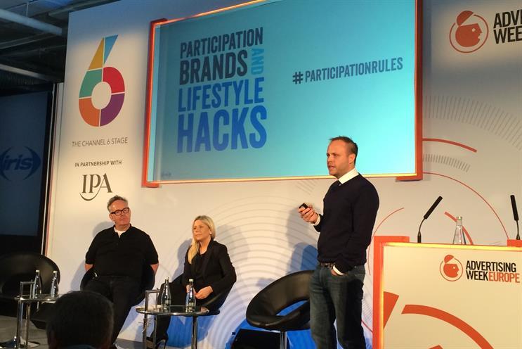Lifestyle hacking panel at Advertising Week Europe 2014