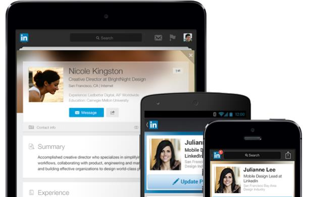 LinkedIn profiles: don't forget your headshot