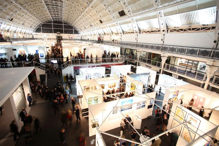 London Art Fair takes place at the Business Design Centre