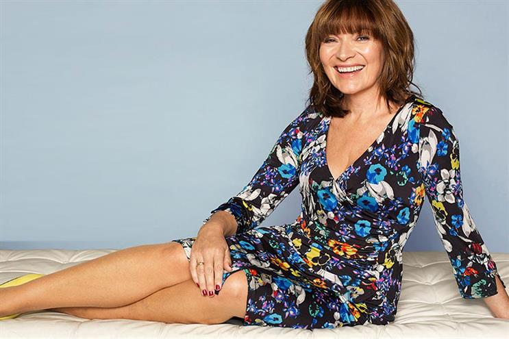 JD Williams: Lorraine Kelly