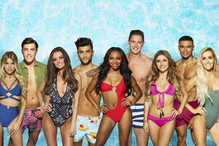 Love Island breaks ITV2 overnights ratings record