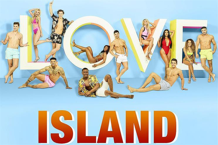 Love Island: generated eight million tweets in the summer