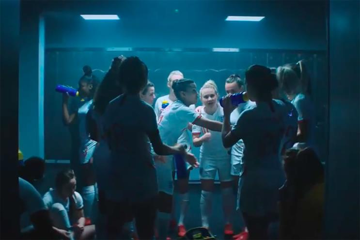 Lucozade: Grey created work around the Women's World Cup
